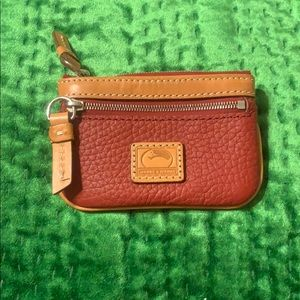 Dooney and Bourke Red Change Purse
